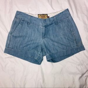 Dear John Denim Comfort Shorts Size 26 cuffed hem